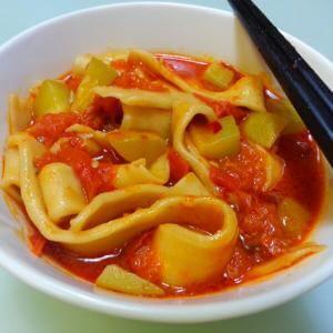 西红柿刀削面