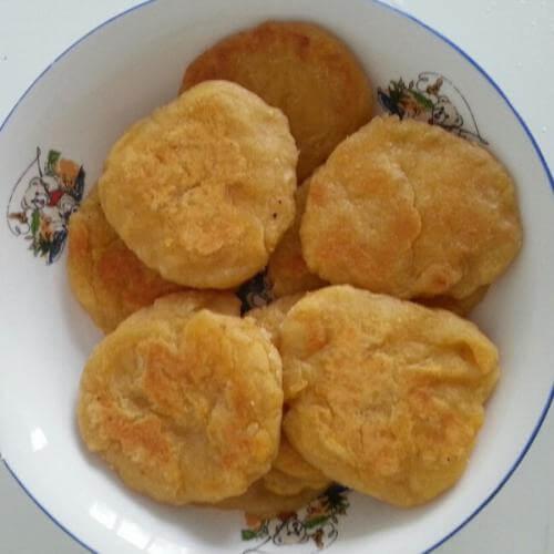 香甜地瓜饼