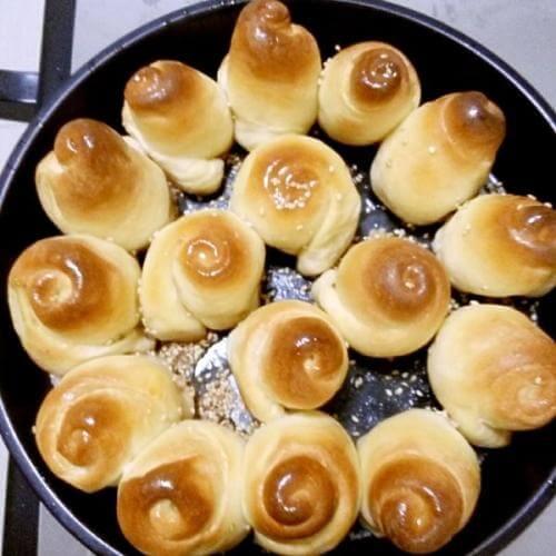 蜂蜜开心笑面包