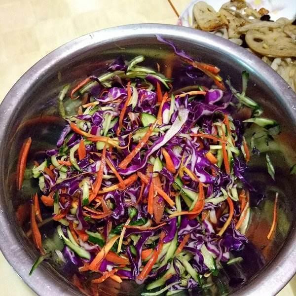 虎头五彩时蔬杂拌菜