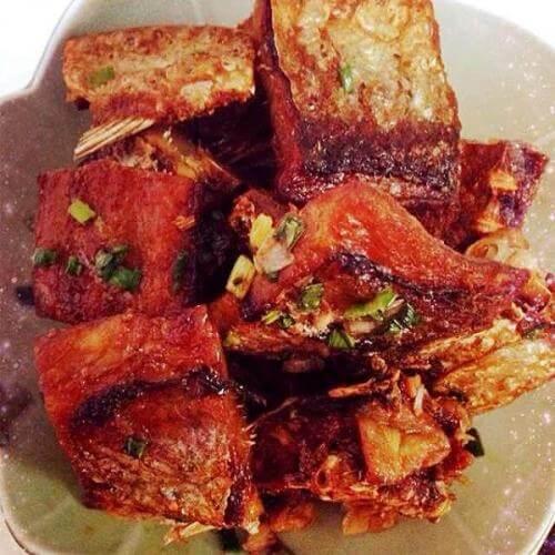 香煎腊鱼块