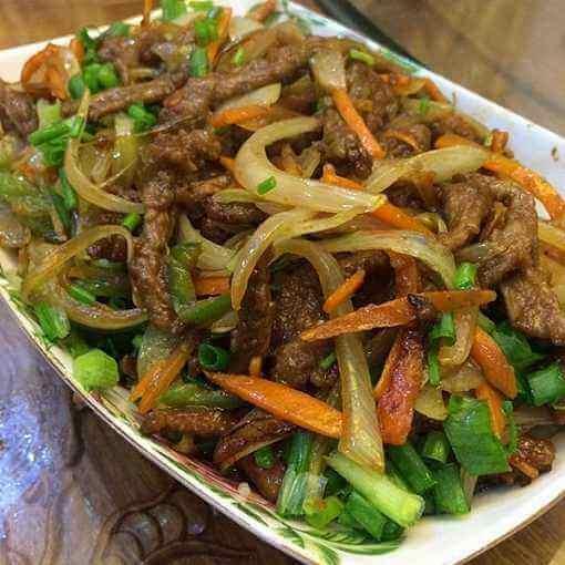 咖喱洋葱甜椒炒牛肉