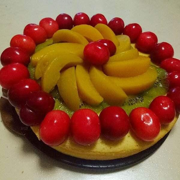 水果酸奶慕司蛋糕