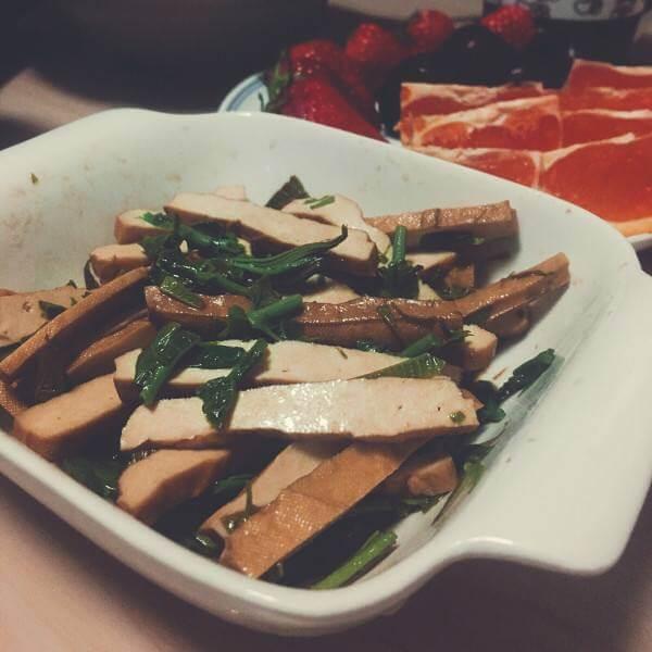 香椿豆腐干