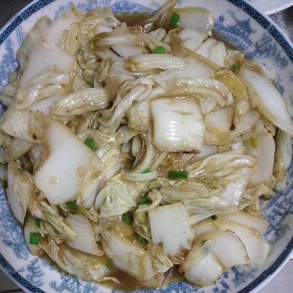 糖醋大白菜