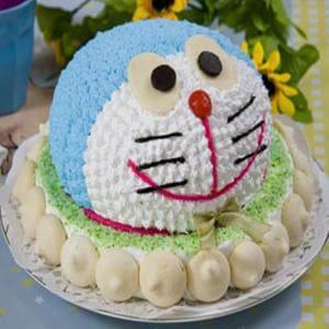 叮当猫生日蛋糕