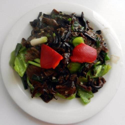 山蘑小白菜