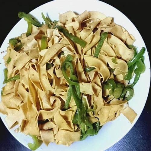 家常干豆腐