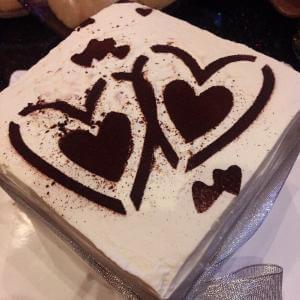 焦糖核桃蛋糕
