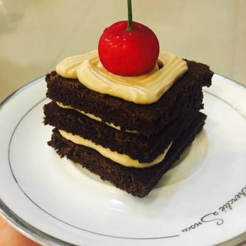 摩卡全麦蛋糕