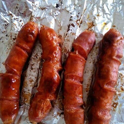 芝麻烤香肠