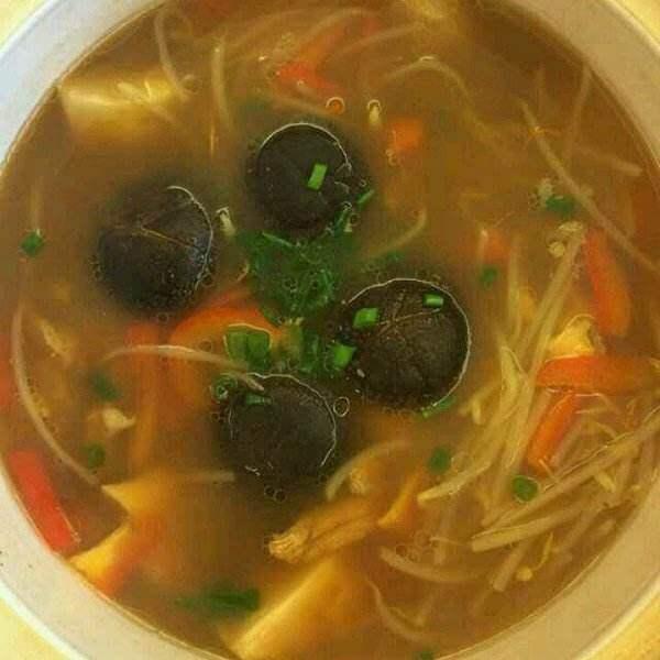 鸡肉蔬菜汤