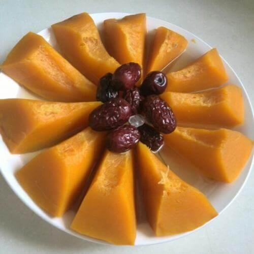 甜蜜碗碗香--蒸南瓜