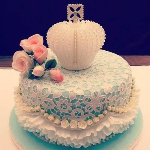 朴素的蛋糕