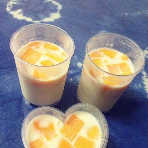 高纤芒果果冻