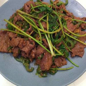 水煮沙茶牛肉