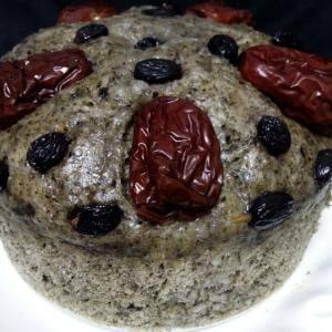 黑香米发糕