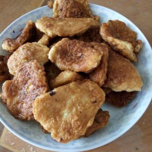 椰香玉米虾饼