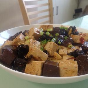 烧鸳鸯豆腐