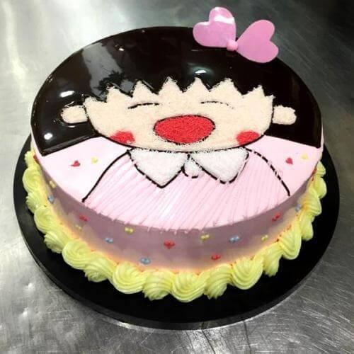 樱桃小丸子蛋糕