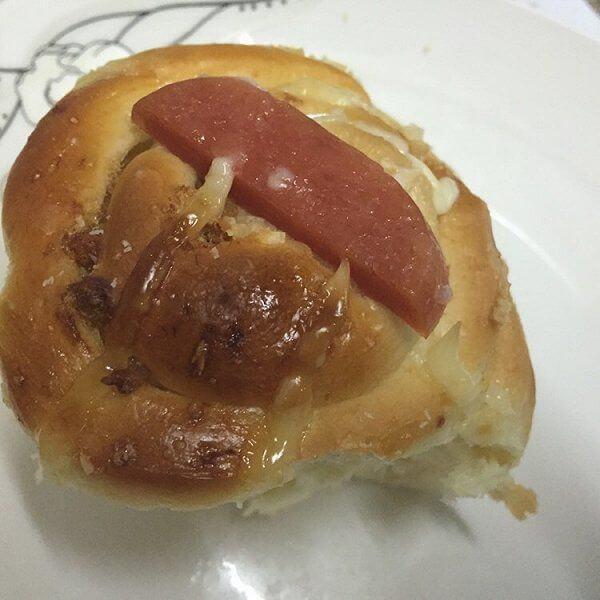 蜜花豆软面包