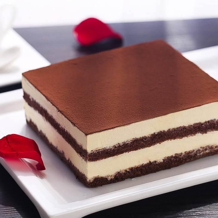 黑白巧克力慕斯