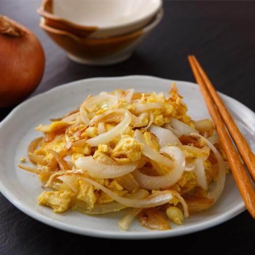 洋葱炒蛋:最本土的一道菜