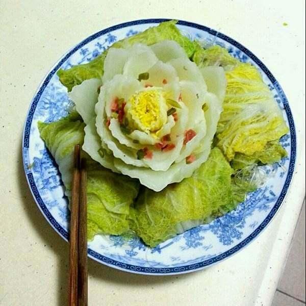 芥末白菜卷