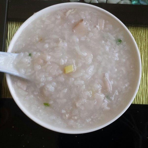 糯米藕和糯米藕粥