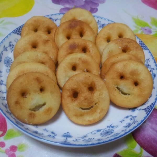 炸红豆薯饼