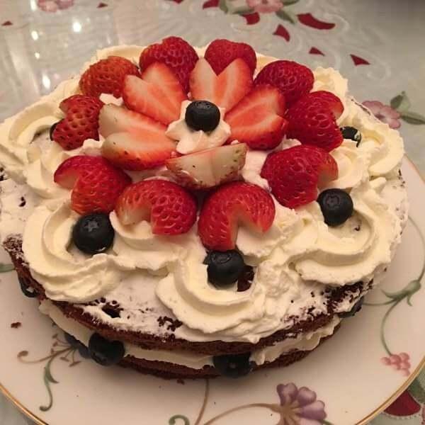 心心相映蛋糕