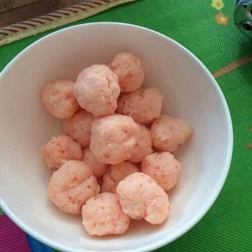 芝麻鲜虾丸