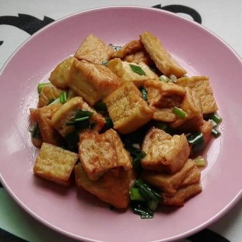 葱香豆腐干