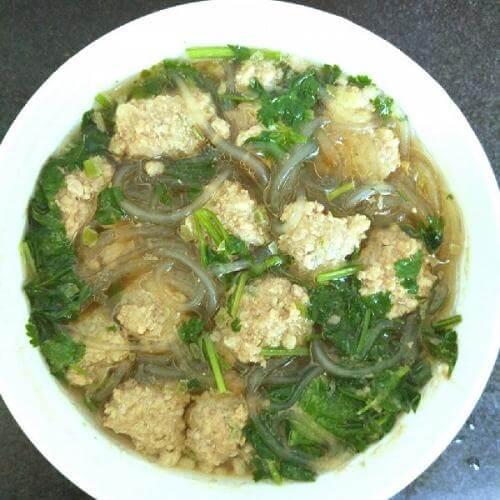 猪肉粉丝汤