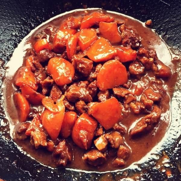 辣焖萝卜羊肉