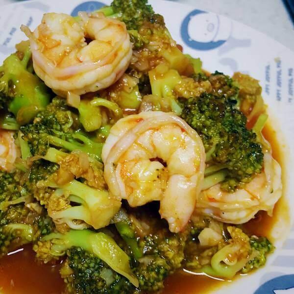 茄汁虾仁菜花