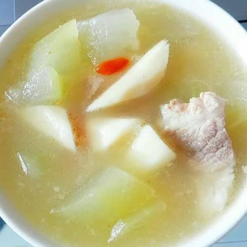 肉汤炖冬瓜
