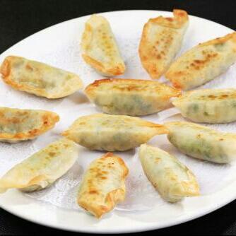 茴香猪肉煎饺