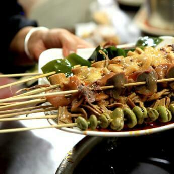 素菜串串香