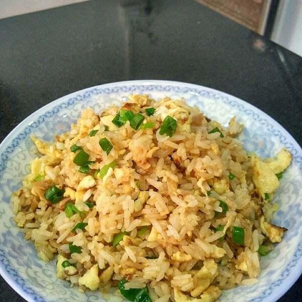 萝卜干蛋炒饭