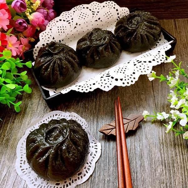 竹炭小餐包