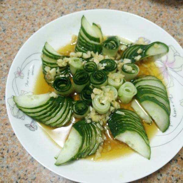 蒜泥黄瓜片