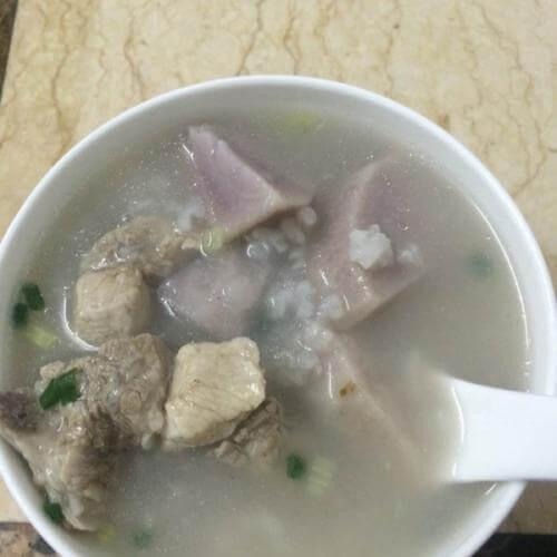 香芋排骨粥