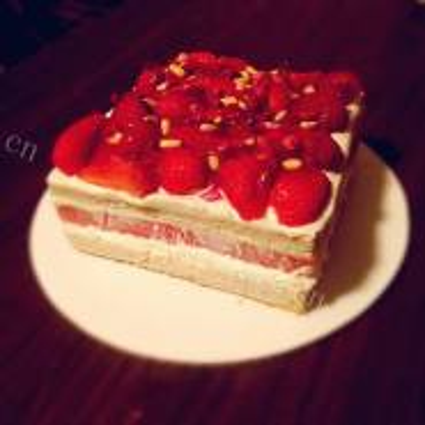 四个四分之一蛋糕