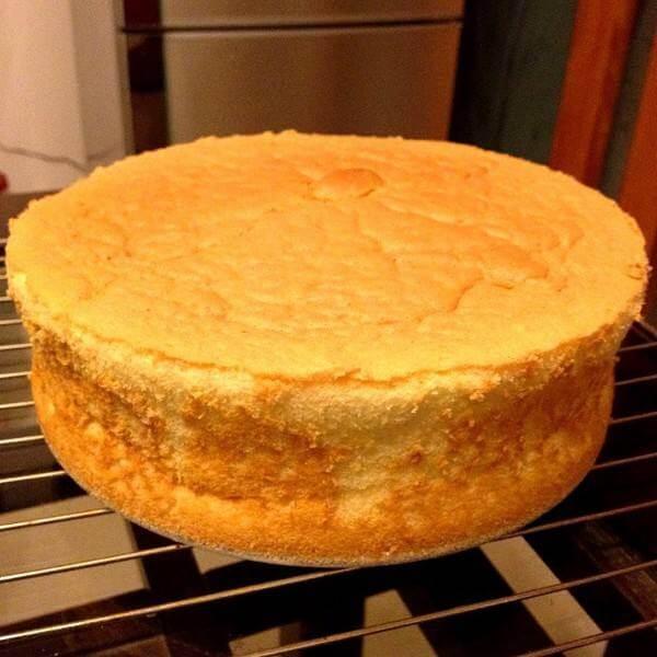 桔香戚风蛋糕
