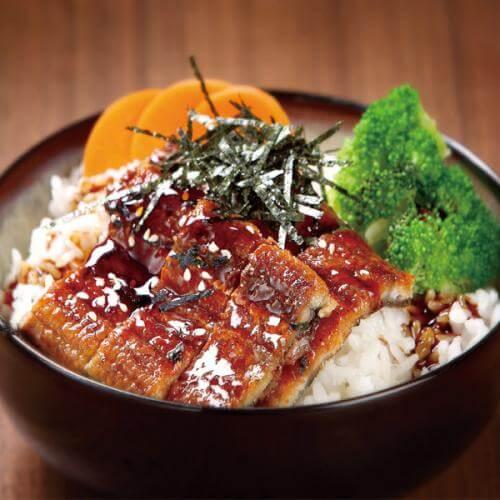 美味鳗鱼饭