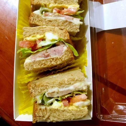 全麦三明治