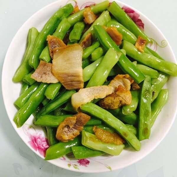 爆炒四季豆