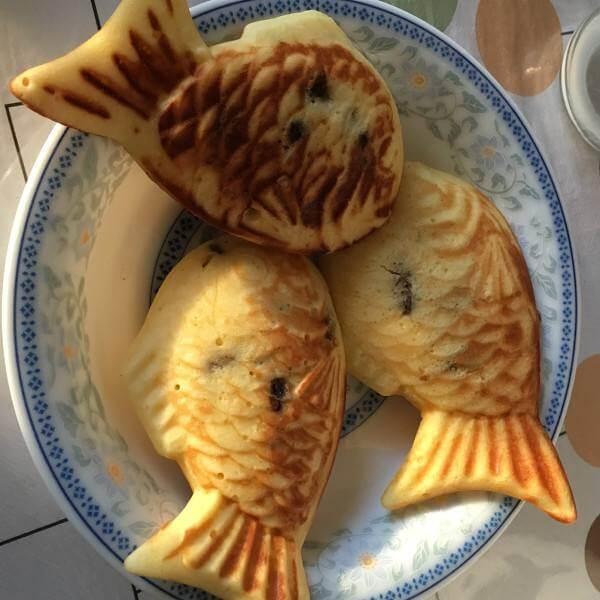 枫糖鲷鱼烧