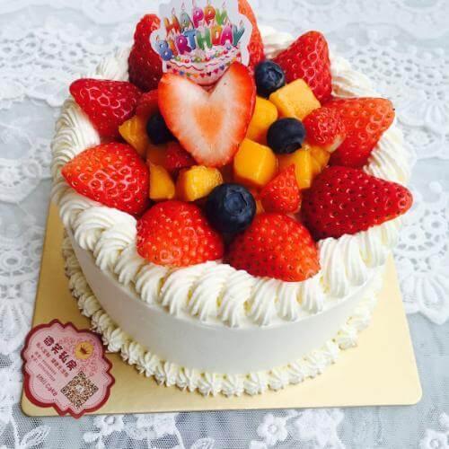 普通的蛋糕